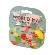 Travel Case World Map