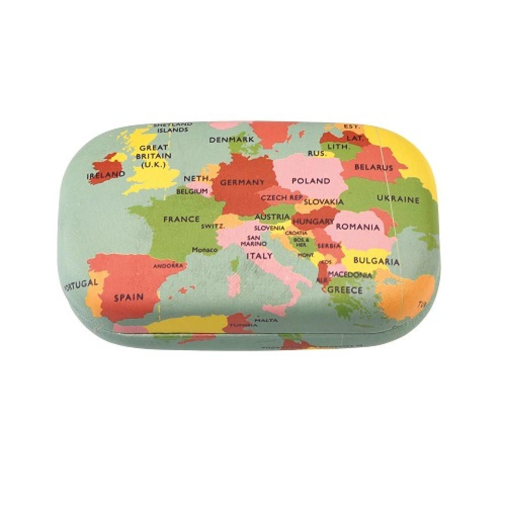 Travel Case World Map