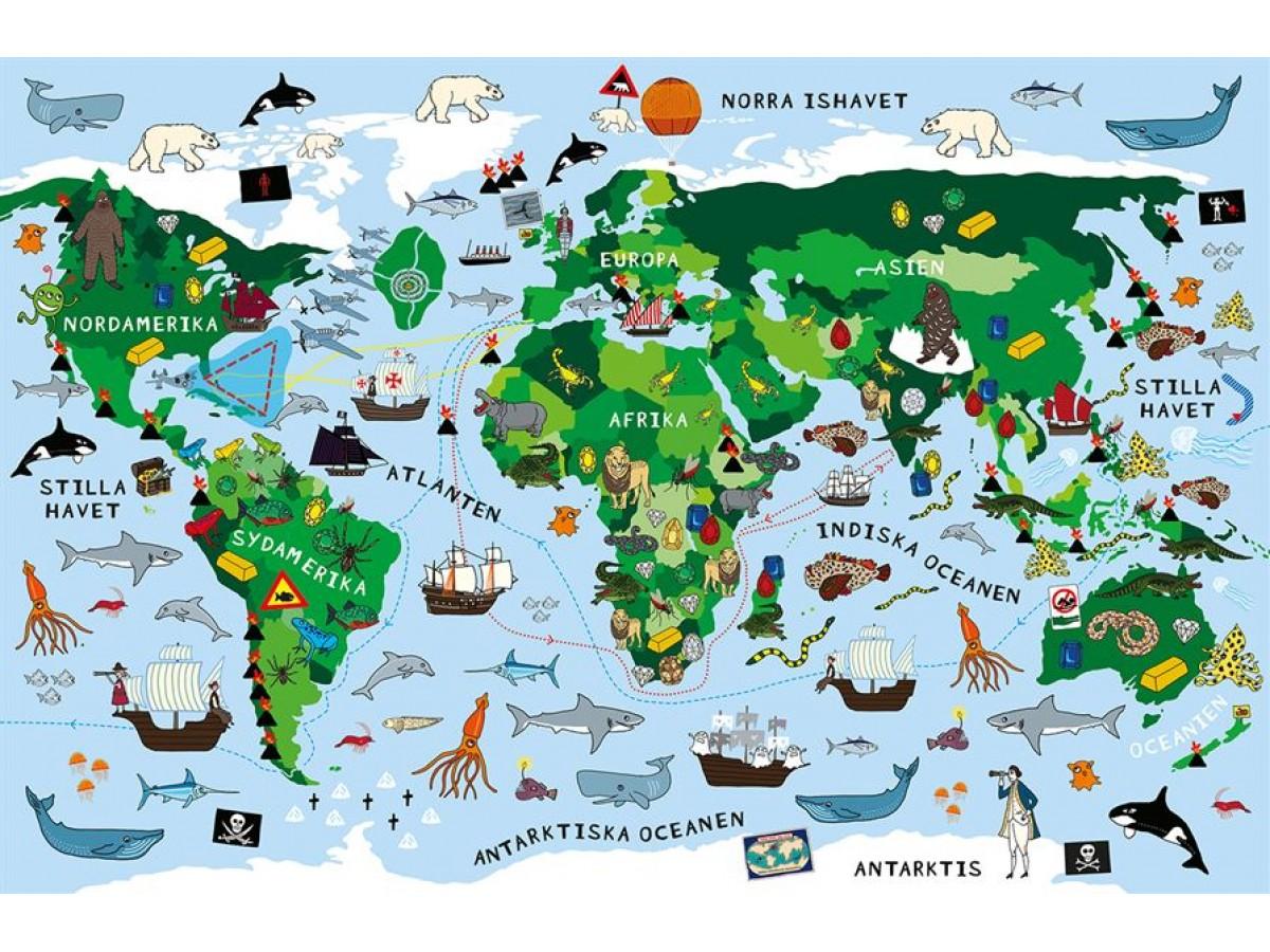 karta norra europa Köp Viktiga Kartor Pussel med snabb leverans   Kartbutiken.se karta norra europa