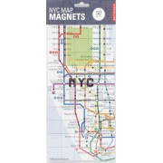 New York Kylskåpsmagnet