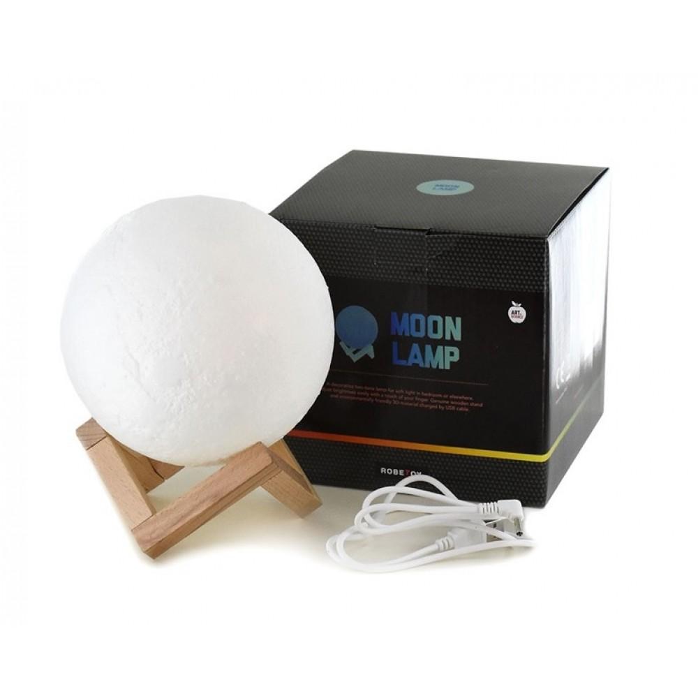 Månglob med belysning - Moon Light 15cm