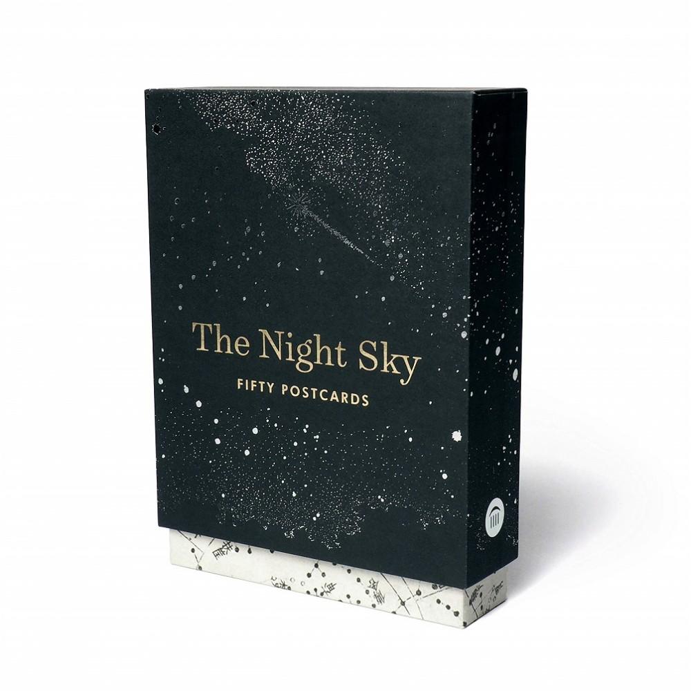 The Night Sky 50 vykort