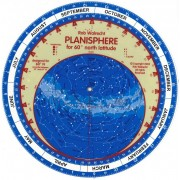 Planisphere 60`Norra Europa/Sverige