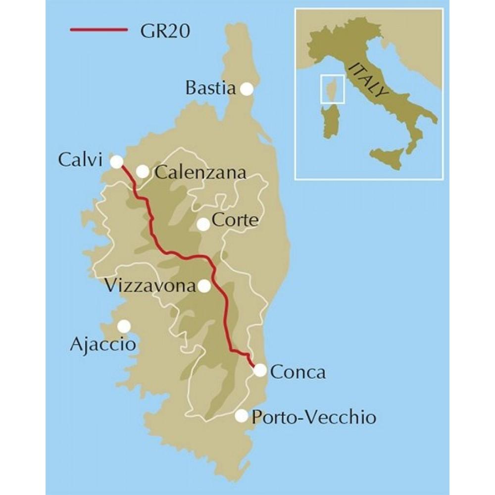 Trekking the GR20 Corsica Cicerone