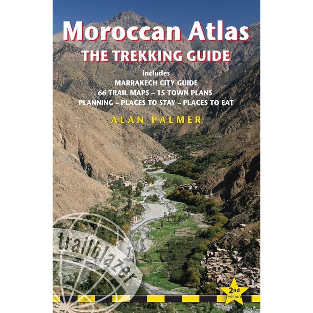 Moroccan Atlas the Trekking Guide Trailblazer