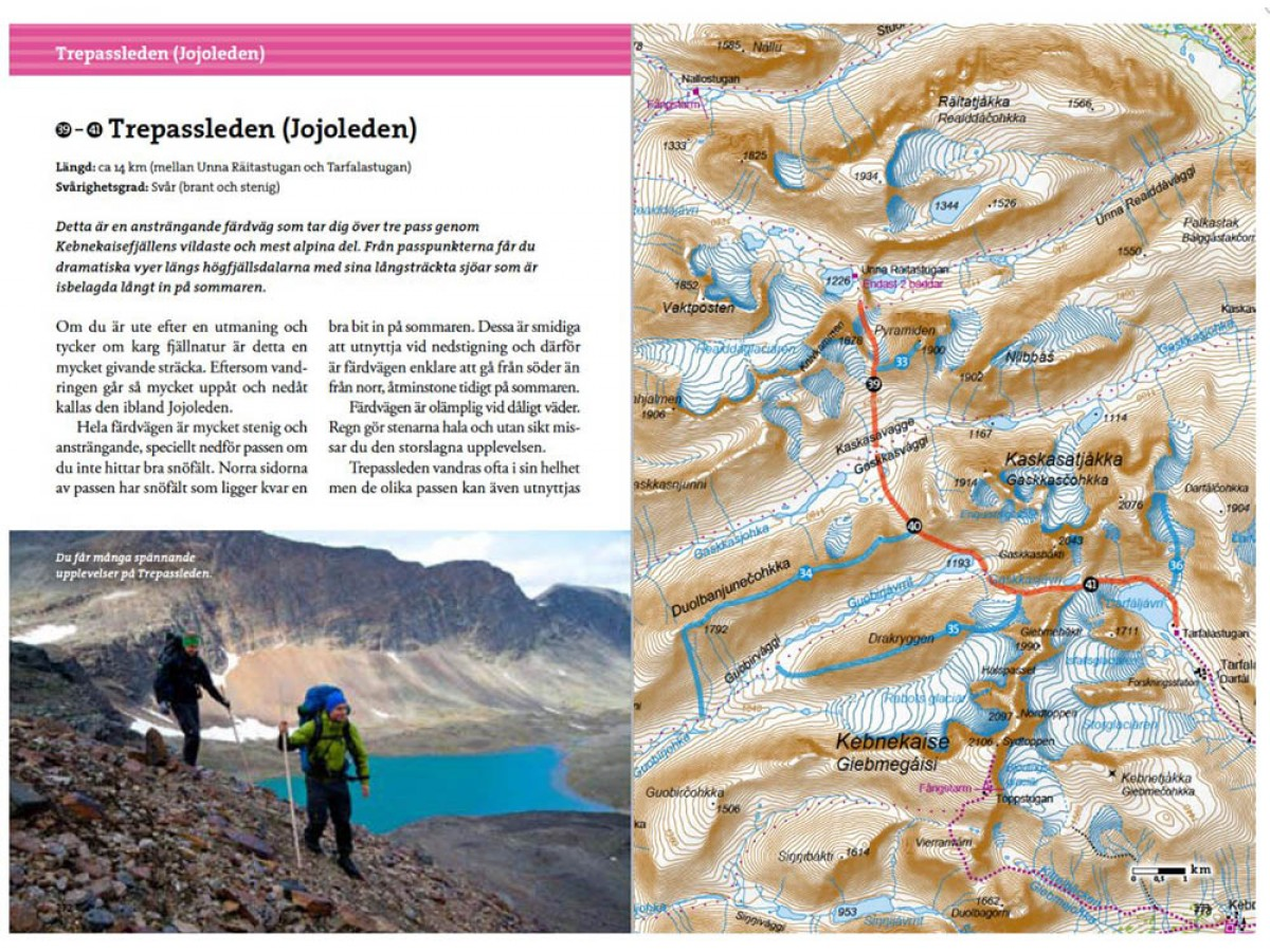 Fjällvandra kring Kebnekaise, Abisko & Riksgränsen