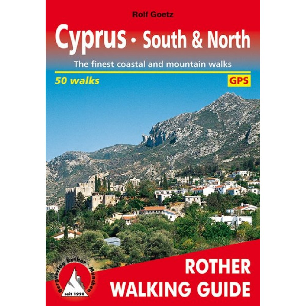 Cyprus South & North Rother Walking Guide