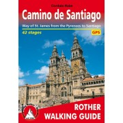 Camino de Santiago Rother Walking Guide