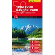 Triglavski National Park Hiking Map