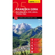 Kranjska Gora Hiking Map
