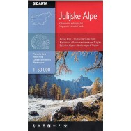 Julian Alps Hiking Map Cordee