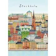 Stockholm - Gamla Stan Kort A4