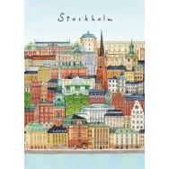 Stockholm - Gamla Stan Kort A5