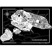 Tallriksunderlägg Kungsholmen