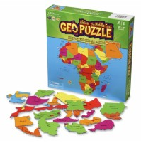 Geo Puzzle Afrika