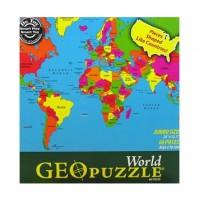 Geo Puzzle Världen