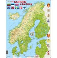 Norden och Baltikumpussel