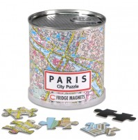Paris City Magnetic Puzzle