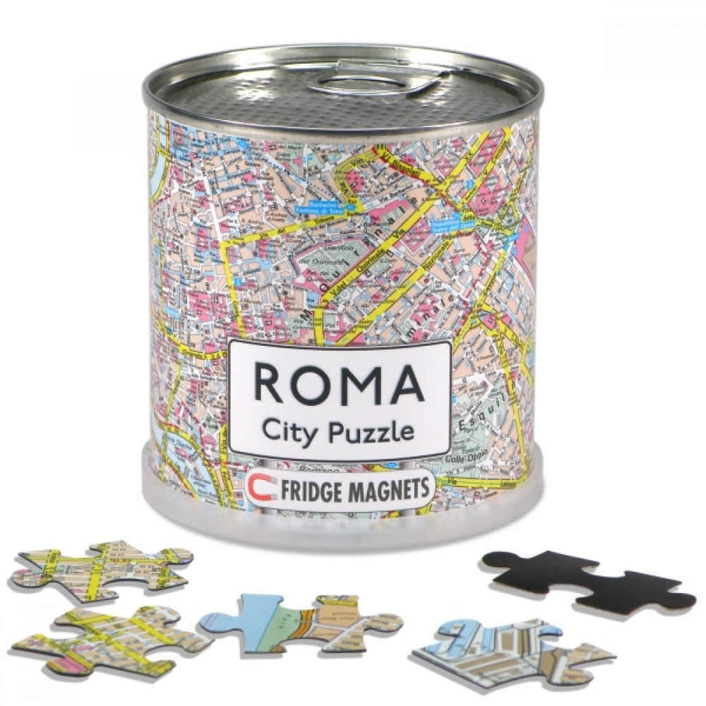Rom City Magnetic Puzzle