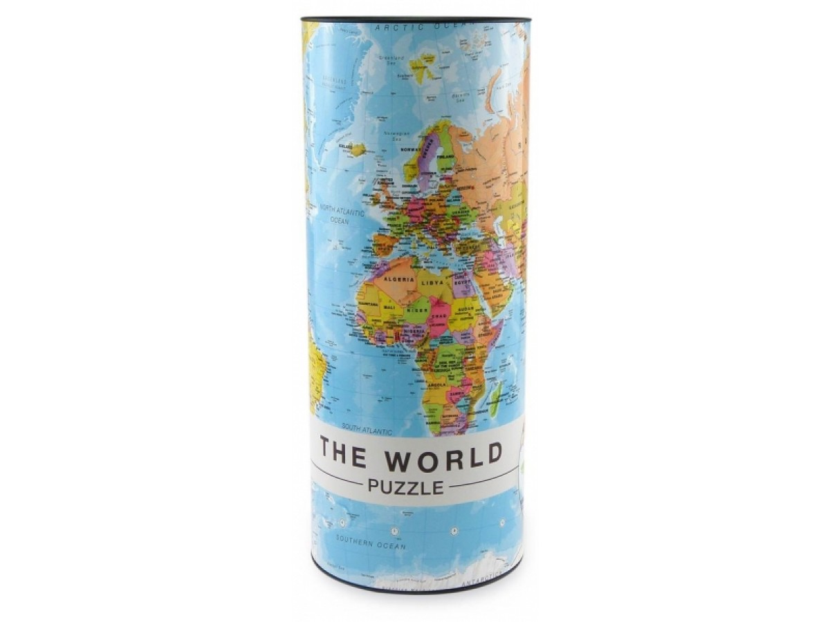 The World Puzzle 1000 bitar