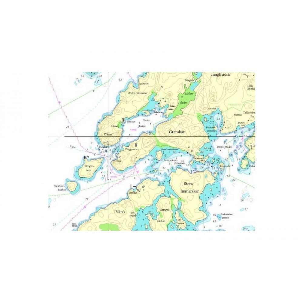 Söderarms västra skärgård Hydrographica