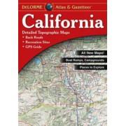 Kalifornien Delorme atlas
