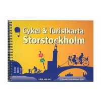 Cykelkarta StorSthlm 1:14.000