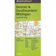 Detroit & Southeastern Michigan Rand McNally