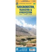 Turkmenistan Tajikistan and Kyrgyzstan