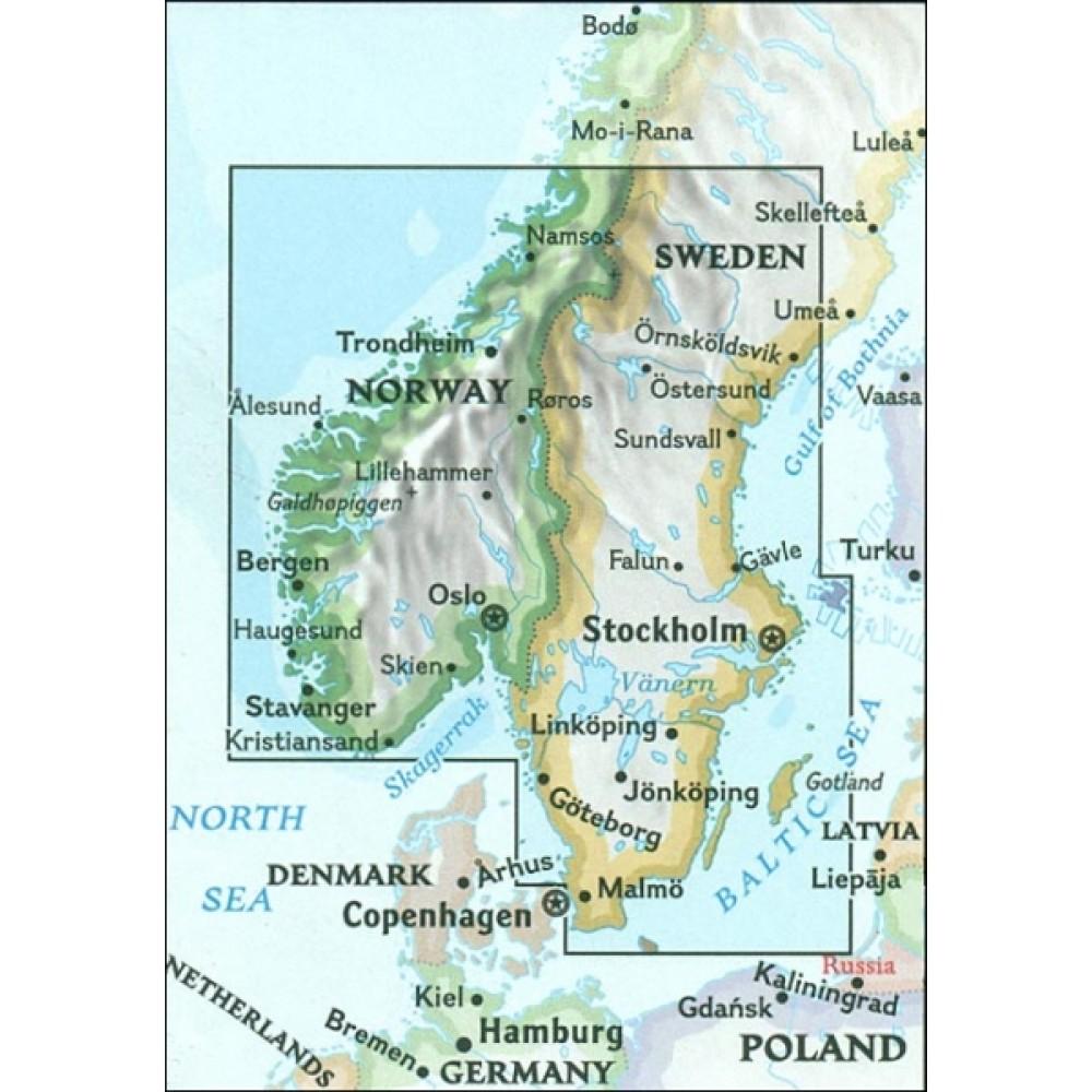 Södra Sverige och Norge