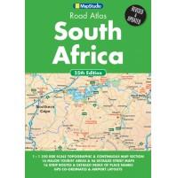 Sydafrika Atlas Map Studio