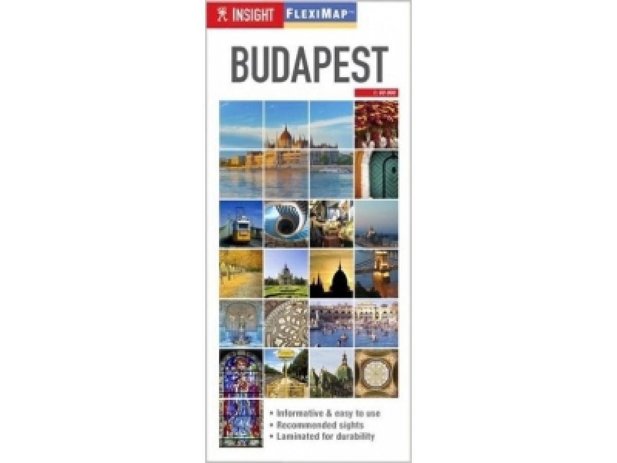 Karta Over Budapest Sevardheter.Kop Budapest Fleximap Insight Med Snabb Leverans Kartbutiken Se