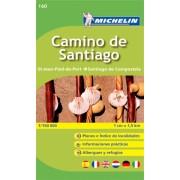 Camino de Santiago Michelin