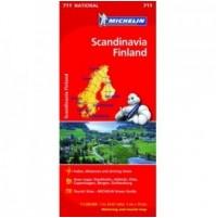 Skandinavien med Finland Michelin