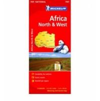 Norra och Västra Afrika Michelin