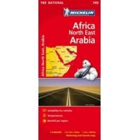 Nordöstra Afrika och Arabien Michelin