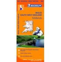 503 Wales Västra England  Michelin