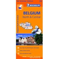 533 Belgien norra/centrala  Michelin
