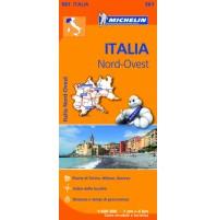 561 Nordvästra Italien Michelin
