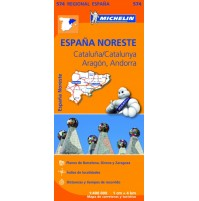 574 Katalonien Nordöstra Spanien  Michelin