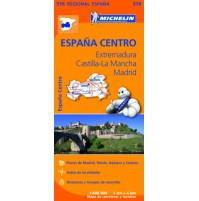 576 Extremadura, Castilla-La Mancha, Madrid Michelin