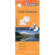 525 Midi-Pyrenees 1:200.000