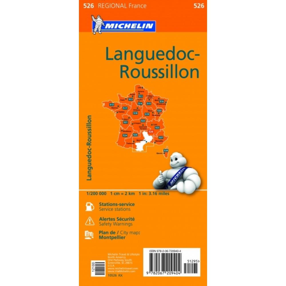 526 Languedoc-Roussillon 1:200.000