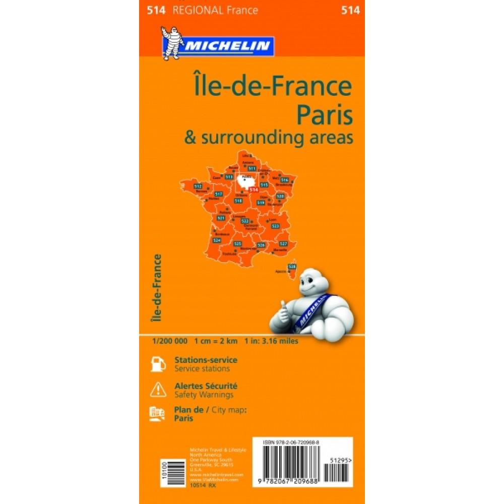 514 Paris & surrounding areas