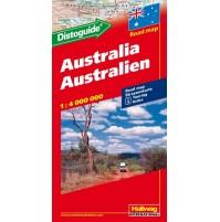 Australien Distoguide Hallwag