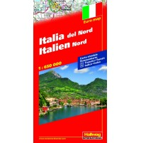 Italien Norra Distoguide Hallwag