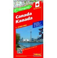 Kanada Distoguide Hallwag