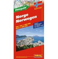 Norge Distoguide Hallwag