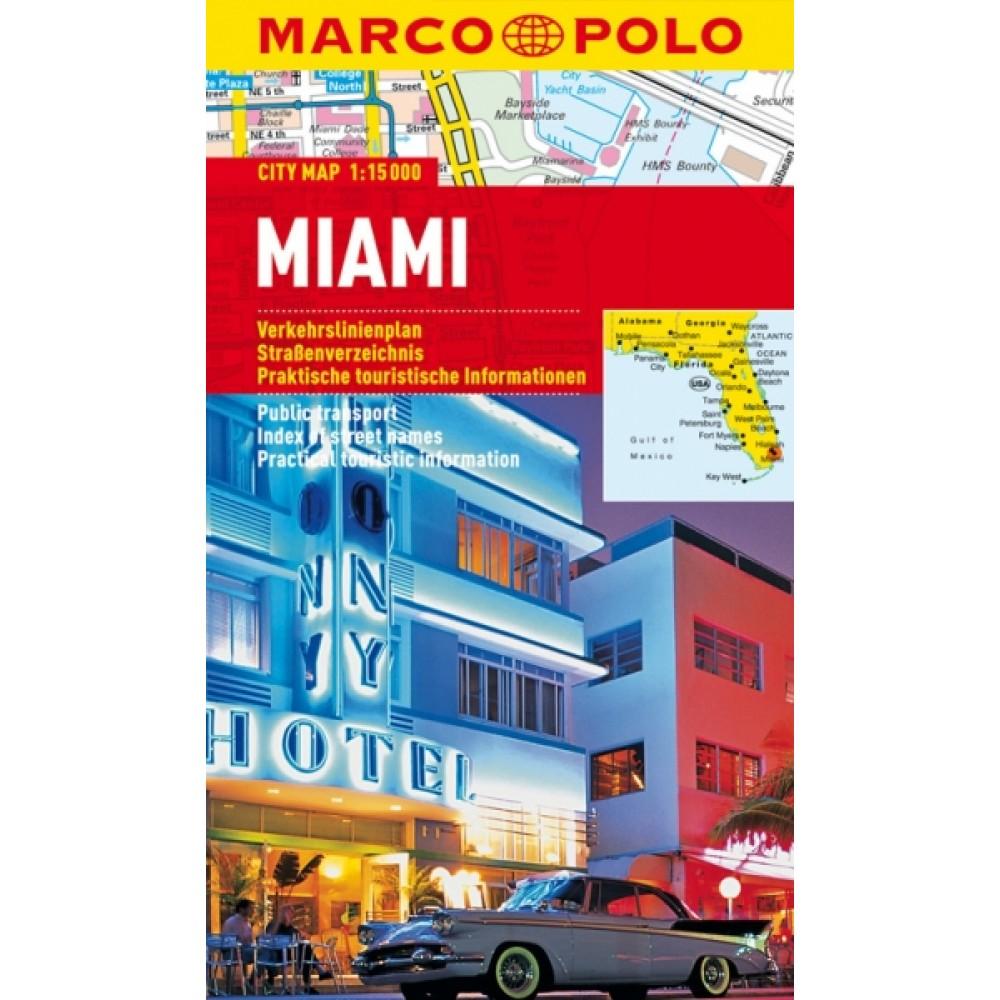 Miami Stadskarta Marco Polo