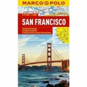 San Francisco Stadskarta Marco Polo